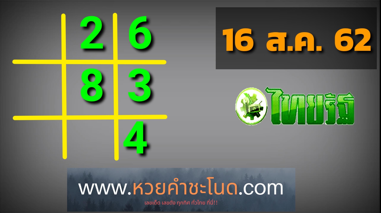 หวยไทยรัฐ160862